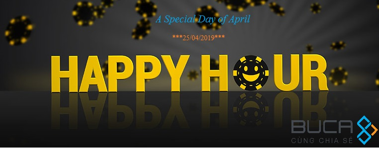 Happy Hour T4.2019 (Special Day)