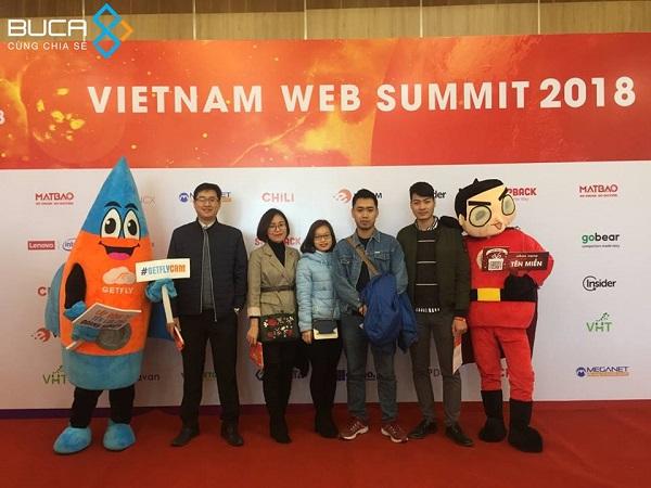 BuCA tham dự Vietnam Web Summit 2018