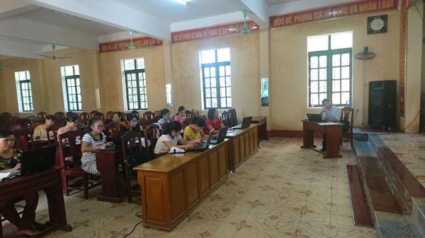 Tập huấn nâng cấp phần mềm kế toán Hành chính sự nghiệp a-Bigtime tại Quảng Xương, Thanh Hóa